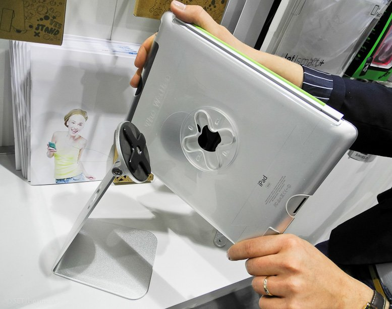 iPad überall: Modulare Stand- und Hängesysteme