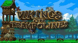 D-Pad Studio - Vikings on Trampolines 4-Player Mode