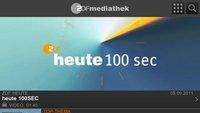 ZDF Mediathek jetzt über Universal-App erreichbar