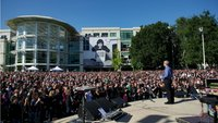 Gedenkfeier für Steve Jobs