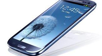 Samsung Galaxy S3: Unboxing, Produktionsfehler, Display-Makroaufnahmen und Music Hub