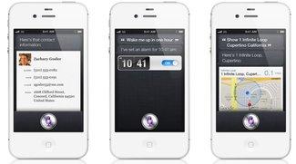 Siri, der sprachgesteuerte Assistent im neuen iPhone 4S