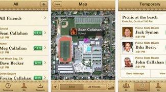 """Apple-App """"Meine Freunde suchen"""" für totale Kontrolle - und Nutzen"""