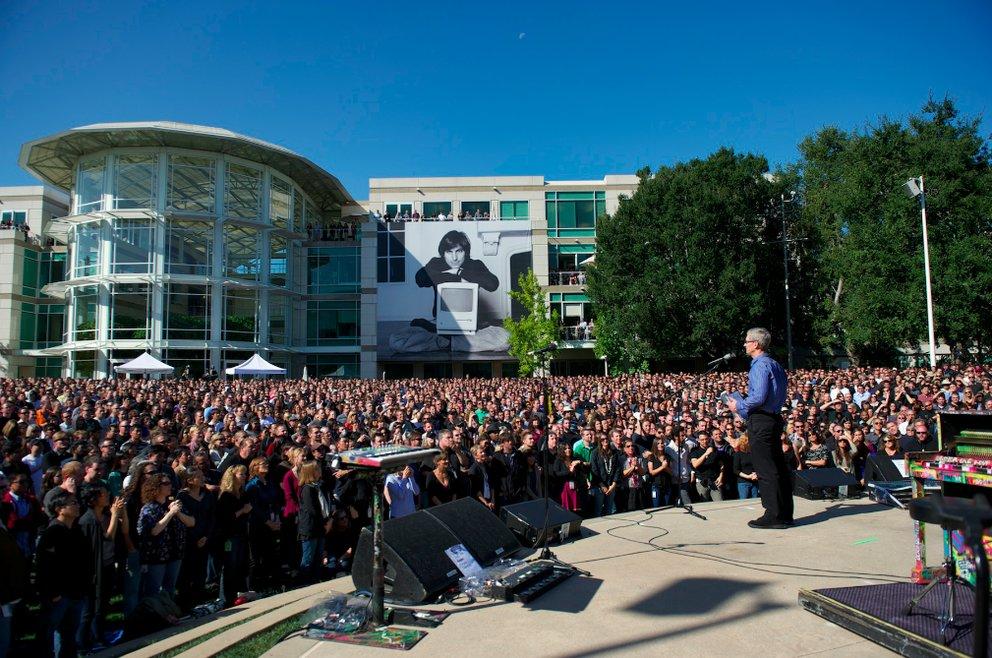 Apples Gedenkfeier für Steve Jobs jetzt als Video verfügbar