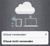 iCloud &amp&#x3B; iOS 5: Synchronisation auf iPhone und iPad einrichten