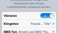 iOS 5: Klingeltöne und Vibrationsmuster für Anrufe und SMS
