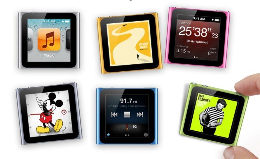 iPod nano: Mit neuem Design dem iPhone ähnlicher als je zuvor