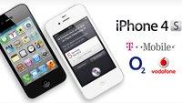 iPhone 4S mit Vertrag: Vorbestellung und Tarife bei T-Mobile, Vodafone, O2