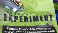 Warten auf das iPhone 5: Camping in London