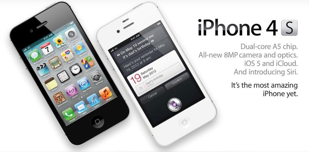 iPhone 4S mit Vertrag: Tarife von Telekom, Vodafone und o2