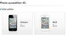 iPhone 4S: Offenbar mehr Vorbestellungen als beim iPhone 4
