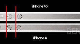Vorsicht beim Schutzhüllen-Kauf: iPhone 4S mit kleinen Design-Änderungen