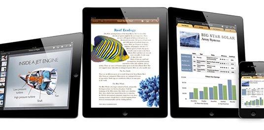 iWork: Wartungsupdates für die iOS-Apps