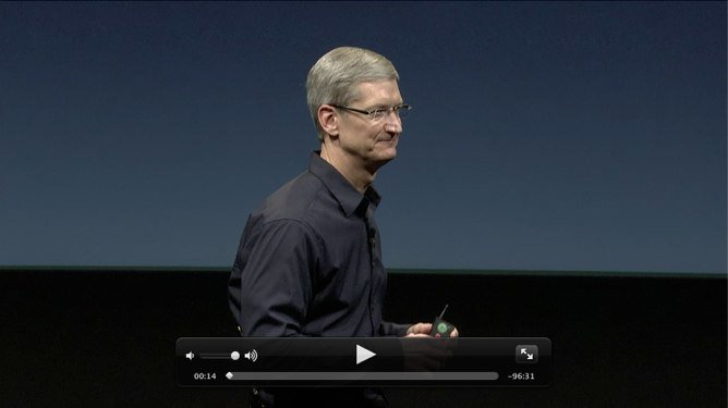 Apples iPhone 4S Keynote als Videostream online