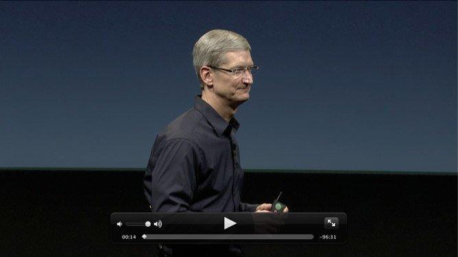 Apples iPhone 4S Keynote als Videostream online