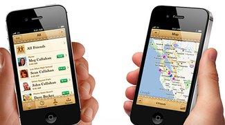 Meine Freunde suchen mit iOS 5: Ja, wo laufen sie denn?