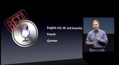 Siri: Vorerst wenige Funktionen für Europäer