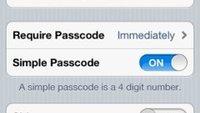 Bug und Feature: Smartcover und Siri umgehen Passcode