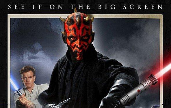 Star Wars Episode 1 - Trailer & Poster für die 3D Fassung