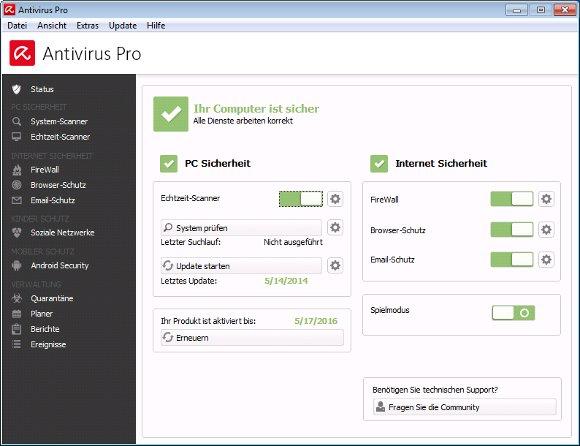 Avira-Internet-Security-Suite