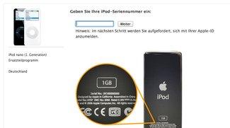 Rückrufaktion: Kostenloser Ersatz für iPod nano 1. Generation