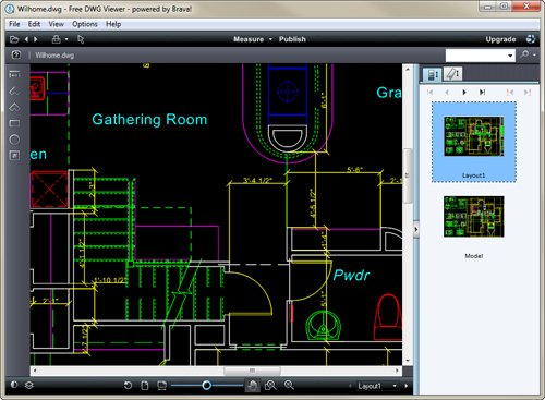 Free dwg viewer download giga for Online cad editor