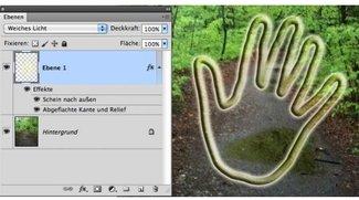 Photoshop-Effekte anwenden mit Pfaden – so gehts