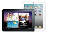 Stiftung Warentest: Samsung Galaxy Pad 10.1 vor iPad 2