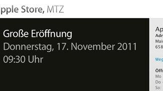 Neuer Apple Store: Eröffnungsfeier in Sulzbach