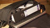 booq Cobra courier M: Der kleine schwarze fürs MacBook Pro