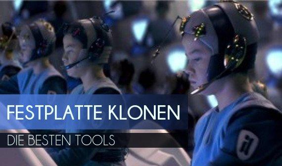 Festplatte klonen: Die besten Tools für Backup und Umzug
