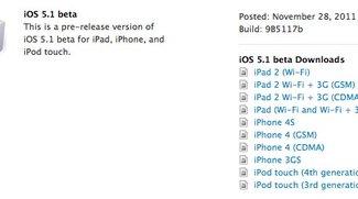 iOS 5.1 Beta: Hinweise auf iPhone 5, iPad 3 und AppleTV3
