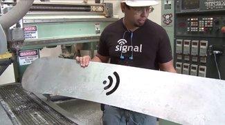 Vid of the Day: iShred - Snowboard mit Apple Design und integriertem iPad