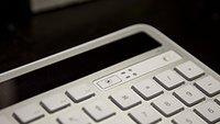 Solar-Tastatur Logitech K750 im Test: Da geht noch was