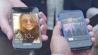 Werbespot fürs Samsung Galaxy S II: Clevere Satire oder plumpe Imitation?