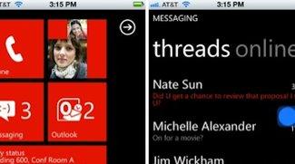 Überzeugungsarbeit: Microsoft simuliert Windows-Phone-7-Benutzeroberfläche mit HTML5-Website