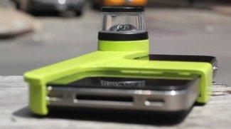 iPhone 4(S): 360 Grad-Aufnahme und Kamera-Dolly