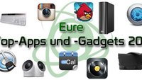 Wählt die Top-Apps und -Gadgets/ Wertvolle Preise zu gewinnen