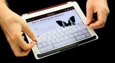 TouchFire: iPad-Tastatur direkt auf dem Touchscreen