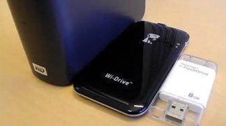 Externer Speicher für iPhone/iPad: Wi-Drive und i-FlashDrive (Video)