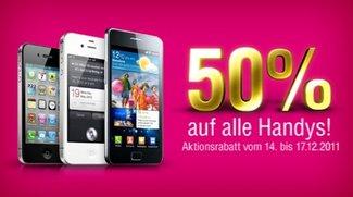 iPhone 4S und weitere Smartphones heute zum halben Preis bei der Telekom