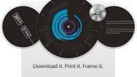 iPod plus iTunes Timeline: 10 Jahre Apple-Geschichte als Infografik für die Wand