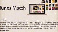 iTunes Match: Europäische Benutzer konnten sich vorübergehend registrieren