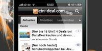 Mein-Deal.com: Schnäppchen-App mit Deal-Bewertung und iPad 2 Gewinnspiel