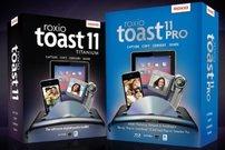 Bis 50% Rabatt auf Roxio Software:<b> Toast Titanium 11 und Popcorn 4</b></b>