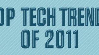 Infografik und Video: Das Tech-Jahr 2011 im Rückblick