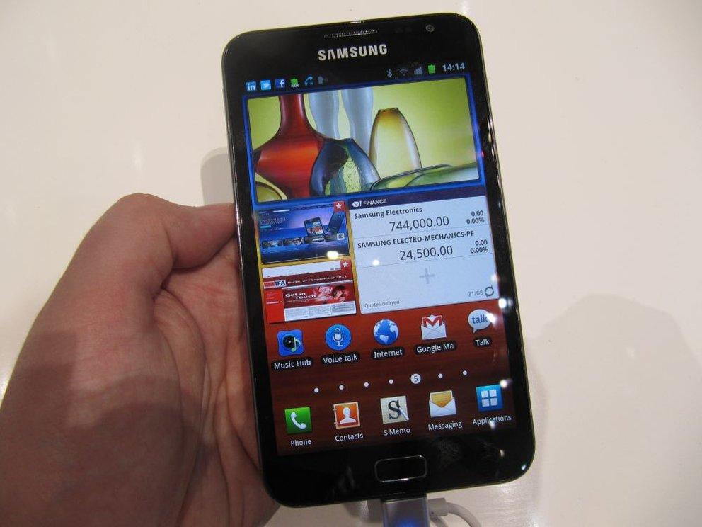 Samsung Galaxy Note: Am 05. November im Hambuger Saturn für nur 449€