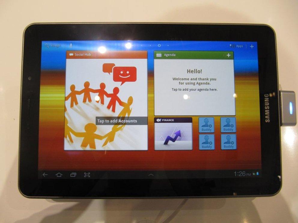 Samsung Galaxy Tab 7.7: Ab Dezember in der Schweiz erhältlich - für 530€