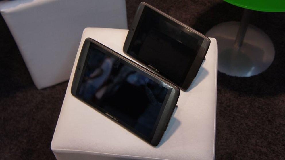 IFA 2011: ARCHOS 101 G9 und 80 G9 im Hands-On