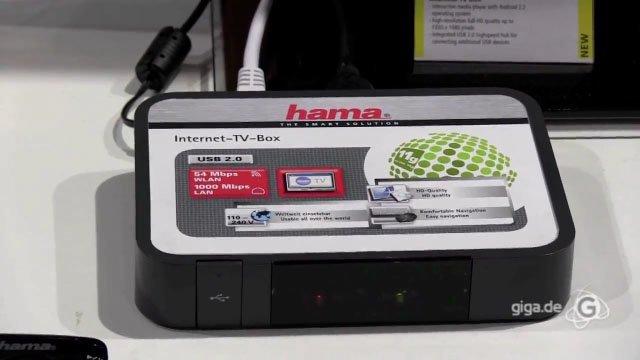 IFA 2011: Hama Android TV Box Hands-On